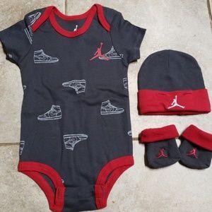 Jordan Baby matching set
